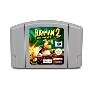 N64 Spiel Rayman 2 - The Great Escape