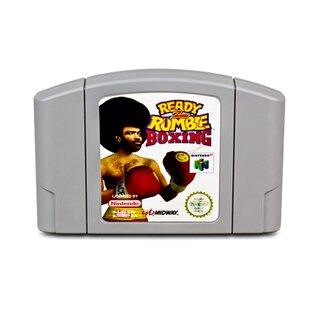 N64 Spiel READY 2 RUMBLE BOXING