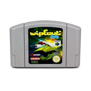 N64 Spiel WIPEOUT - WIPE OUT 64