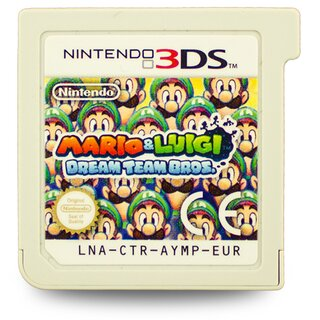 3DS Spiel MARIO & LUIGI - DREAM TEAM BROS. #B