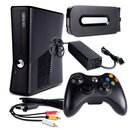 Xbox 360 Konsole Falcon 14,2A Fat 120 GB + 3-Cinch +...