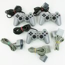 3 ORIG PSX - PLAYSTATION 1 ANALOG CONTROLLER 3D STICKS...