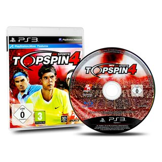 Playstation 3 Spiel 2K Sports - Top Spin 4
