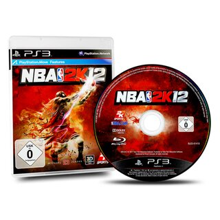 Playstation 3 Spiel NBA 2K12