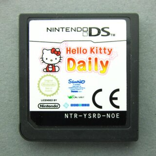 DS Spiel Hello Kitty Daily #B