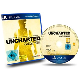 Playstation 4 Spiel Uncharted - The Nathan Drake Collection