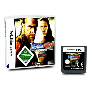 DS Spiel WWE Smack Down / Smackdown vs Raw 2009