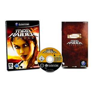 Gamecube Spiel Lara Croft Tomb Raider Legend