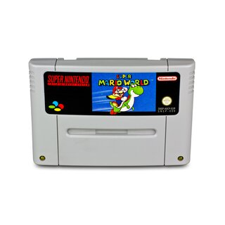 SNES Spiel Super Mario World 1