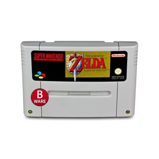 SNES Spiel ZELDA - A LINK TO THE PAST (B-Ware) #020B