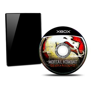 Xbox Spiel Mortal Kombat - Deadly Alliance (Usk 18) #B