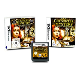 DS Spiel Chronicles Of Mystery - Fluch Des Alten Tempels