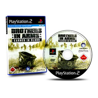 PS2 Spiel Brothers in Arms - Earned in Blood (Usk 18)