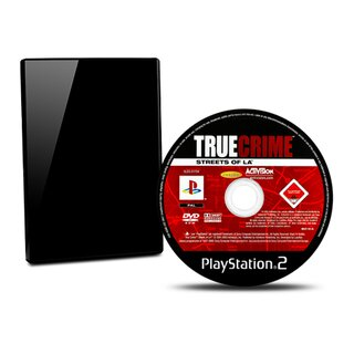 PS2 Spiel True Crime Streets Of La (Usk 18) #B