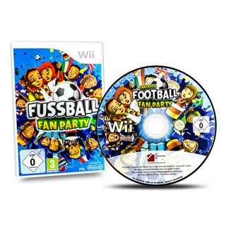 Wii Spiel FUSSBALL FAN PARTY #A