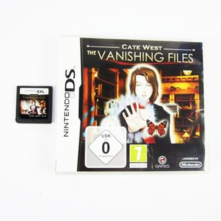 DS Spiel Cate West - The Vanishing Files #A