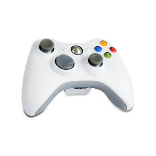 Original Xbox 360 Wireless Controller in weiss
